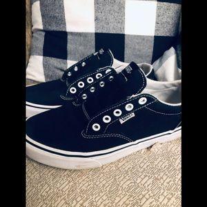 Vans - old school Black & White shoes